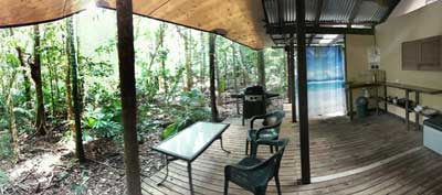 self contained accommodation in cape tribulation