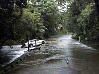 very wet cape tribulation weather