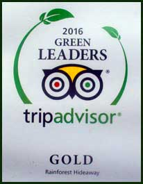 eco accreditation from Tripadvisor
